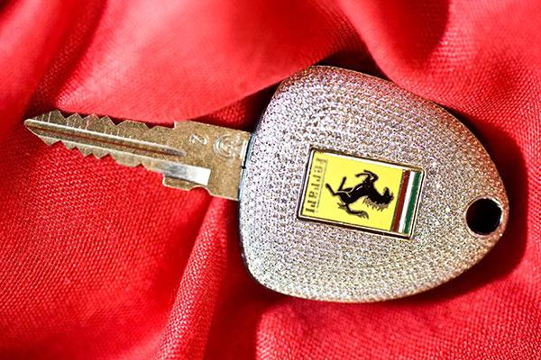کلید سفارشی و گران قیمت فراری